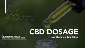 CBD Dosage medicine dropper