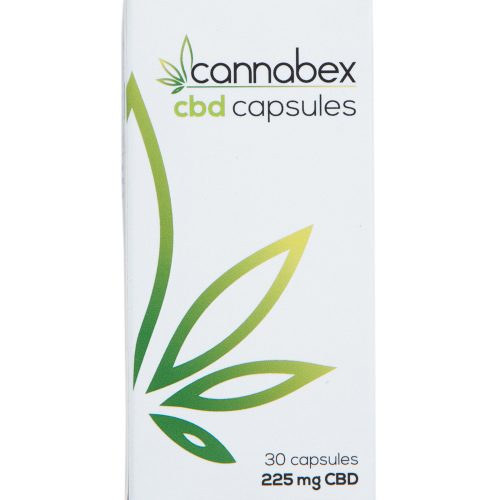 Cannabex CBD Capsules 225 mg