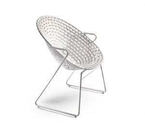 slider revolution white chair