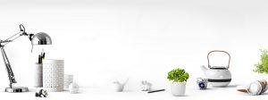 kitchenware with white background
